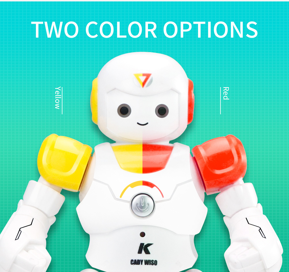 JJRC R12 Remote Control Smart Robots Cady Wiso RC Robot Gesture Sensing Touch Intelligent Dancing Electronic Toy For Children (4)