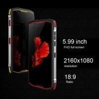 """מכשיר הקשר כיבוש S12 Rugged Smartphone 5.99"""" FHD מסך 8.1 אנדרואיד MTK6763 אוקטה Core 6GB RAM 128GB ROM 4G Waterproof מכשיר הקשר NFC (3)"""