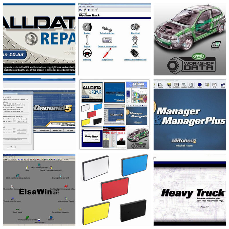 2018 Alldata Software all data and mitchell software auto repair V10.53 mitchell on demand V2015 ElsaWin Vivid Workshop 1TB HDD alldata and mitchell software alldata auto repair software mitchell ondemand 2015 vivid workshop data atsg elsawin 49in 1tb hdd