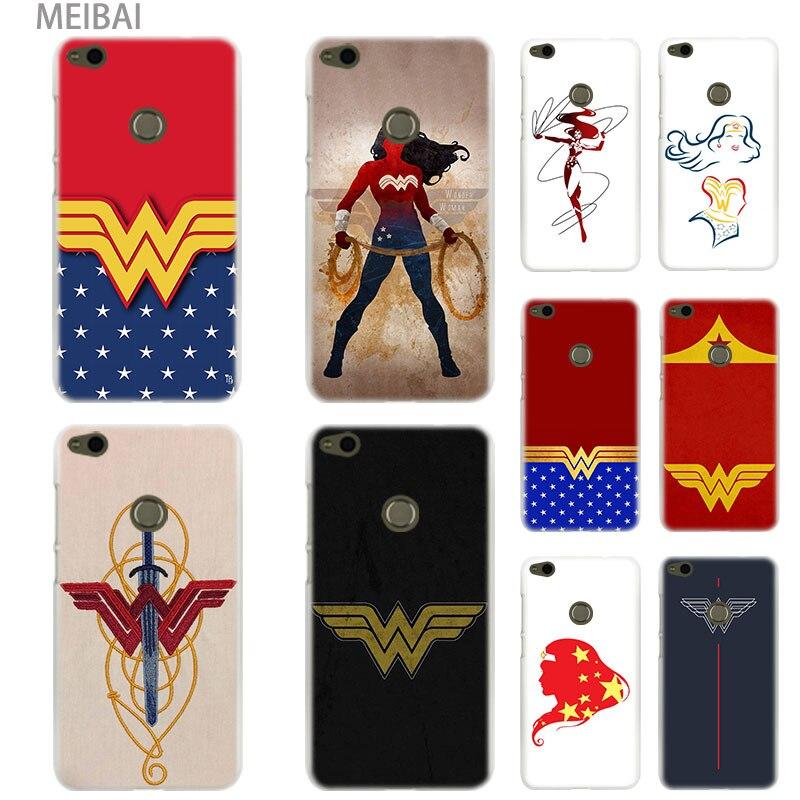 MEIBAI wonder woman sgin Hard cover case for Huawei Honor 5c 9i 4c pro 6c pro 7x 7s 7a pro 8x 9 10 lite Honor 8 lite cover