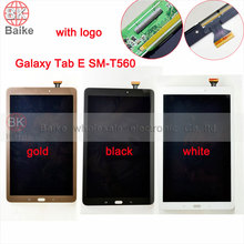 Para samsung galaxy tab e 9.6 t560 t561 t560 pantalla lcd con pantalla táctil digitalizador asamblea sensor completo parte