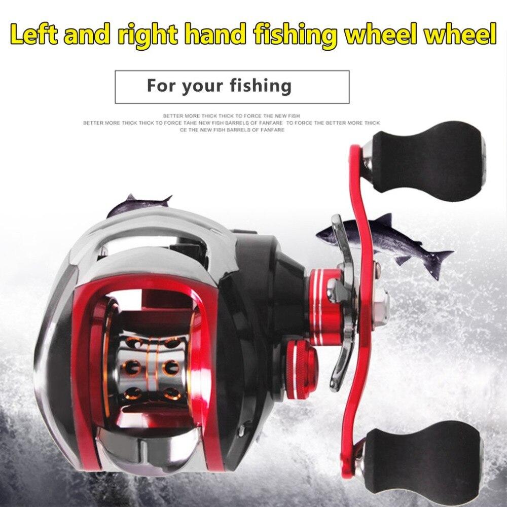 Новый 17 + 1 мосты fishdrops Рыбалка Катушка 7.0: 1 Наживка литья катушки влево/правой Рыбалка один способ сцепления Baitcasting катушка аксессуар ...