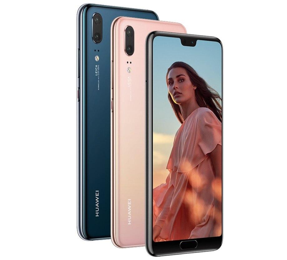Nieuwe Originele Huawei P20 Volledige Netcom Ultra-Dunne Smartphone Geheugen 6Gb + 128Gb Volledige Screen2440x1080