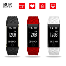 Haoba S2 Bluetooth Smart Band Браслет Heart Rate Мониторы IP67 Водонепроницаемый SmartBand браслет для Android IOS Телефон PK fitbits