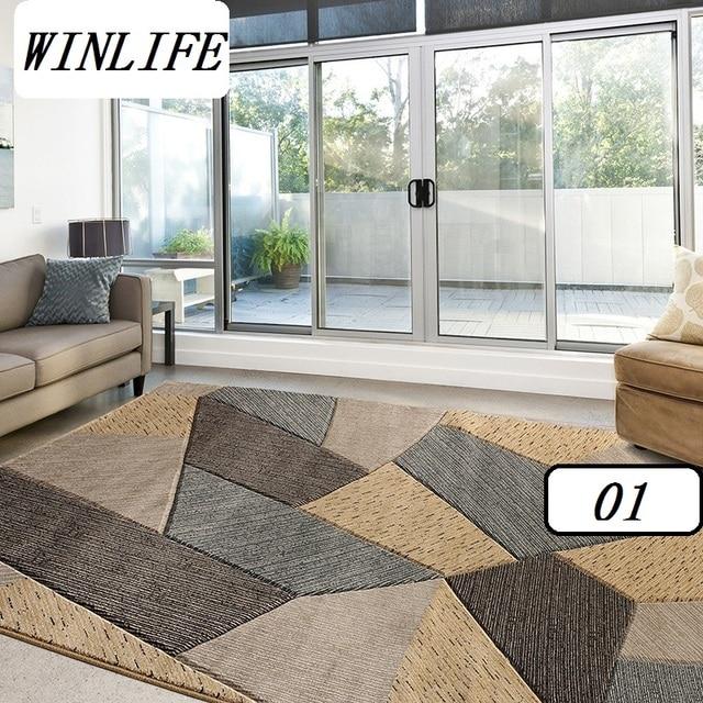 WINLIFE Geometrica Stile Europeo Tappeti Soggiorno/Parlor/Camera ...