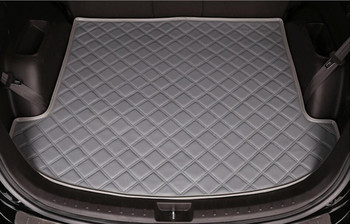 For Honda CIVIC 2011 2012 2013 2014 2015 Cargo Liner Trunk Mats Auto Boot Mat High Quality Soft Leather Mats