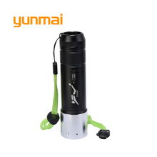 Underwater Diving Led Flashlight Light CREE XM-L T6 Waterproof Dive Flash light Lamp Torch by Rechargeable 18650/AAA Battery