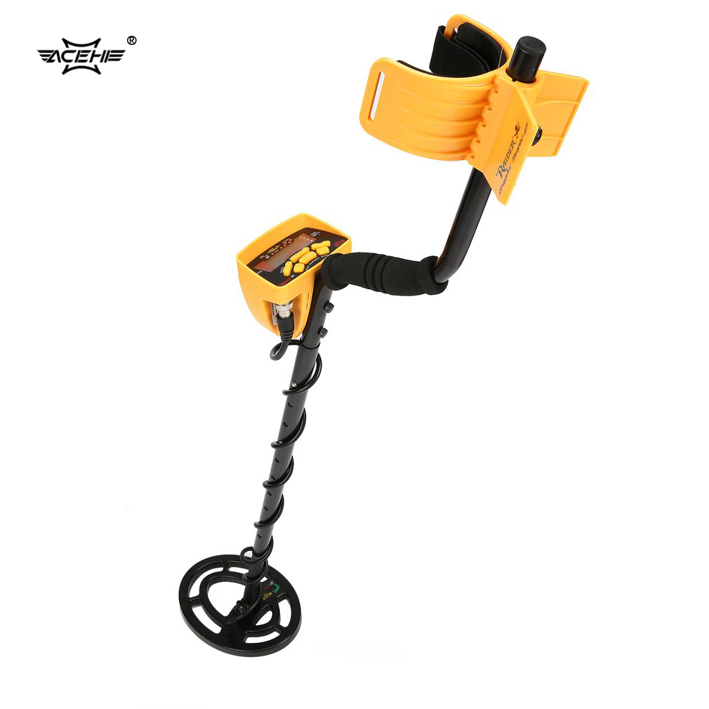 ACEHE MD6250 Professional Portable Underground Metal Detector Handheld Treasure Hunter Gold Digger Finder Pinpoint Function