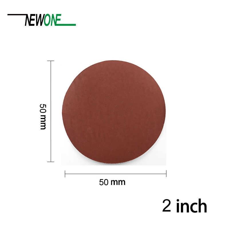 80-3000Grits 2/'/' 50mm Sanding Discs Sandpaper Round Polishing Pad Mix