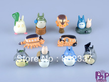 High Quality anime figure PVC Totoro Action Figures 10PCS/SET Best Children Gifts