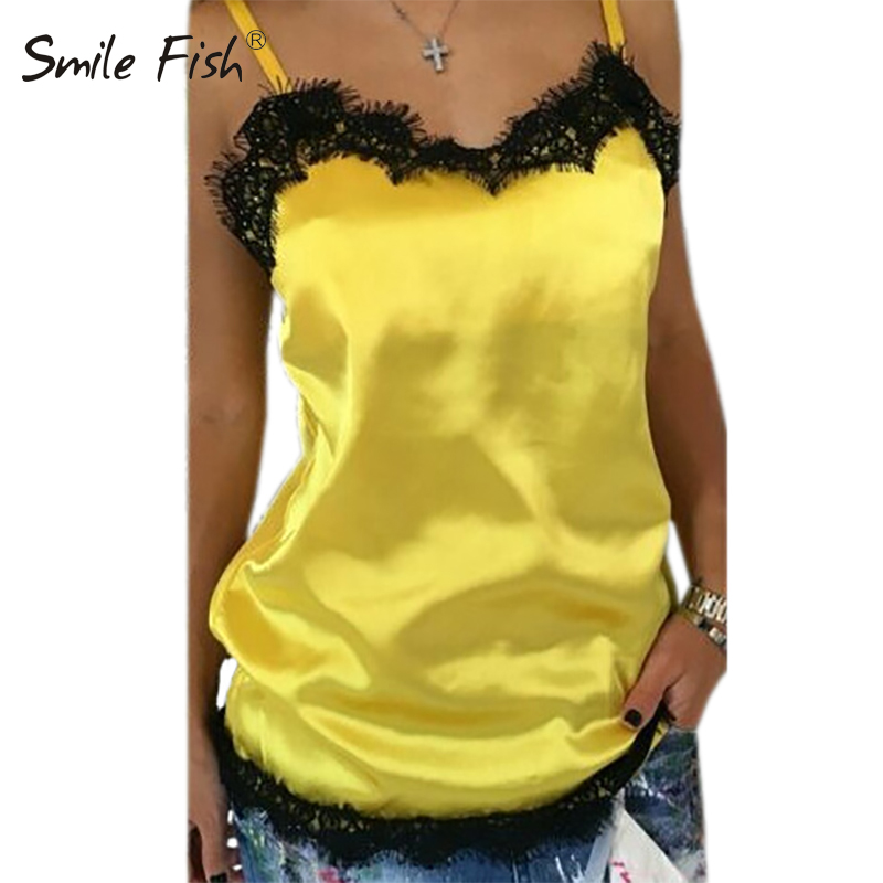 Summer Women Blouse Sexy Club Solid Casual Ladies Lace Patchwork Sleeveless Tee Women Clothing Female Tank Tops Plus Size GV554 1