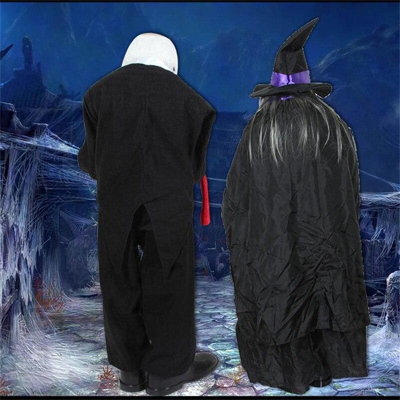 Halloween accessoires drôles debout hommes/femmes demander de l'argent Halloween décoration effrayant yeux horreur voix maison ornements poupée hantée - 5