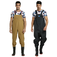 Ultra light Rubber Fishing Wader Breathable Chest Waders Outdoor boots Respirant Fish Overalls Fly B107