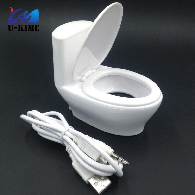 2018 Мода Mini USB интерфейс портативный туалет компьютерные колонки маленькие колонки мини стерео странный новый подарок