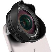 携帯電話カメラレンズ4 k hdプロフェッショナル16ミリメートルいいえ歪み0.45x広角レンズと20xマクロでクリップ用スマートフォン