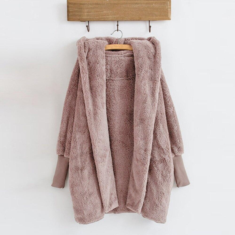 חורף קטיפה ברדס מעיל חורף חם צמר כיסי כותנה מעיל להאריך ימים יותר חורף אישה מעילי 2018 casaco feminino chaqueta mujer #2 w