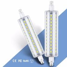 R7S LED 118mm Corn Bulb 78mm Horizontal Plug Lights 135mm Bombilla r7s Lamp 220V 189mm Replace Halogen Floodlight