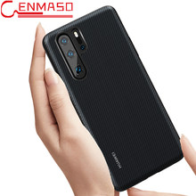 Huawei P30 Pro Case Original Huawei P20 Lite Leather Back Cover P30 Lite Funda Carcasa P20 Pro Full Protective Phone Capa Cases(China)
