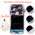 100% Tested Replaecment LCD For Samsung Galaxy S4 i9500 i9505 i337 LCD Screen With Frame 3 Months warranty