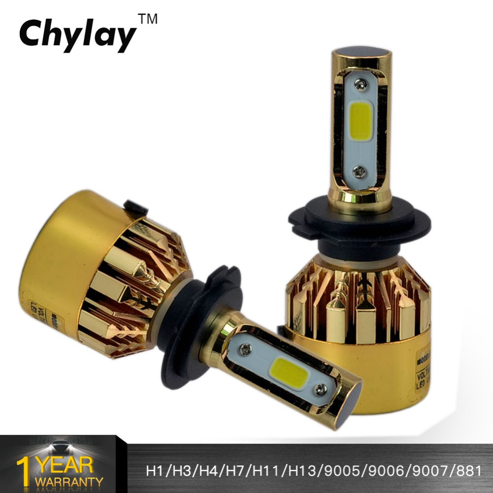 H7 LED Car Light 72W 8000LM 6500K H1 H3 H4 H11 H13 HB3 9005 HB4 9006 9007 881 Bulb Auto Front Fog lamp Bulb Automobile Headlamp cnsunnylight car led headlight bulbs all in one h7 h11 h1 880 h3 9005 9006 9012 5202 72w 8500lm h4 h13 9007 high low beam lights
