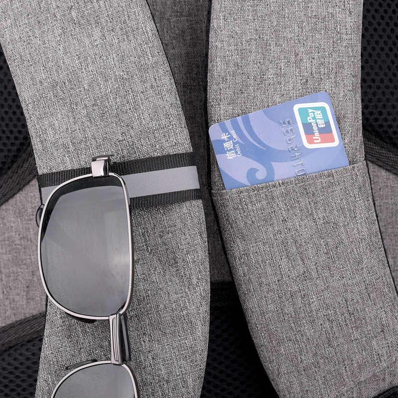 FengDong высокие школьные ранцы для мальчиков умный водонепроницаемый школьный рюкзак usb студенческий рюкзак мужские дорожные сумки для мальчиков сумка для ноутбука 15,6