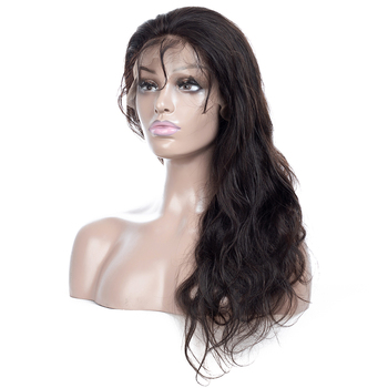Queenlike 150 Density Brazilian Body Wave Pre Plucked Full Lace Human Hair Wigs Remy Hair Glueless Full Lace Wigs With Baby Hair
