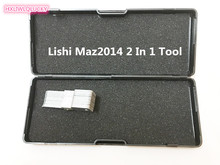 HXLIWLQLUCKY Auto Repair Tool Genuine Lishi Maz2014 2 In 1 Tool Free Shipping