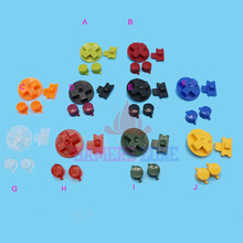 10sets Multi Color Buttons for Gameboy Classic GB Keypads  for GBO DMG DIY  for Gameboy A B buttons D pad