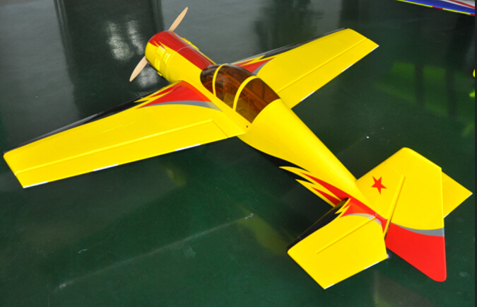 70.8in YAK-54 28CC Carbon Fiber RC Gasoline Airplane ARF F0141 new 74 8in turbo raven carbon fiber version 30 35cc rc model gas airplane petrol airplane arf