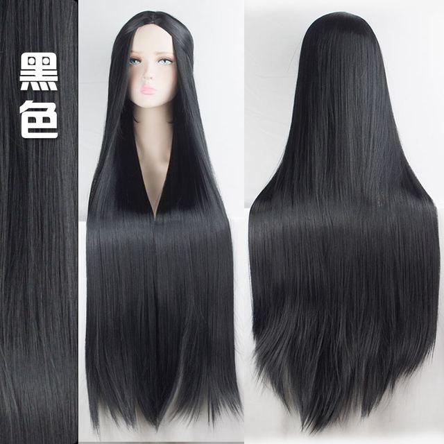 100cm Multicolor Wigs 1