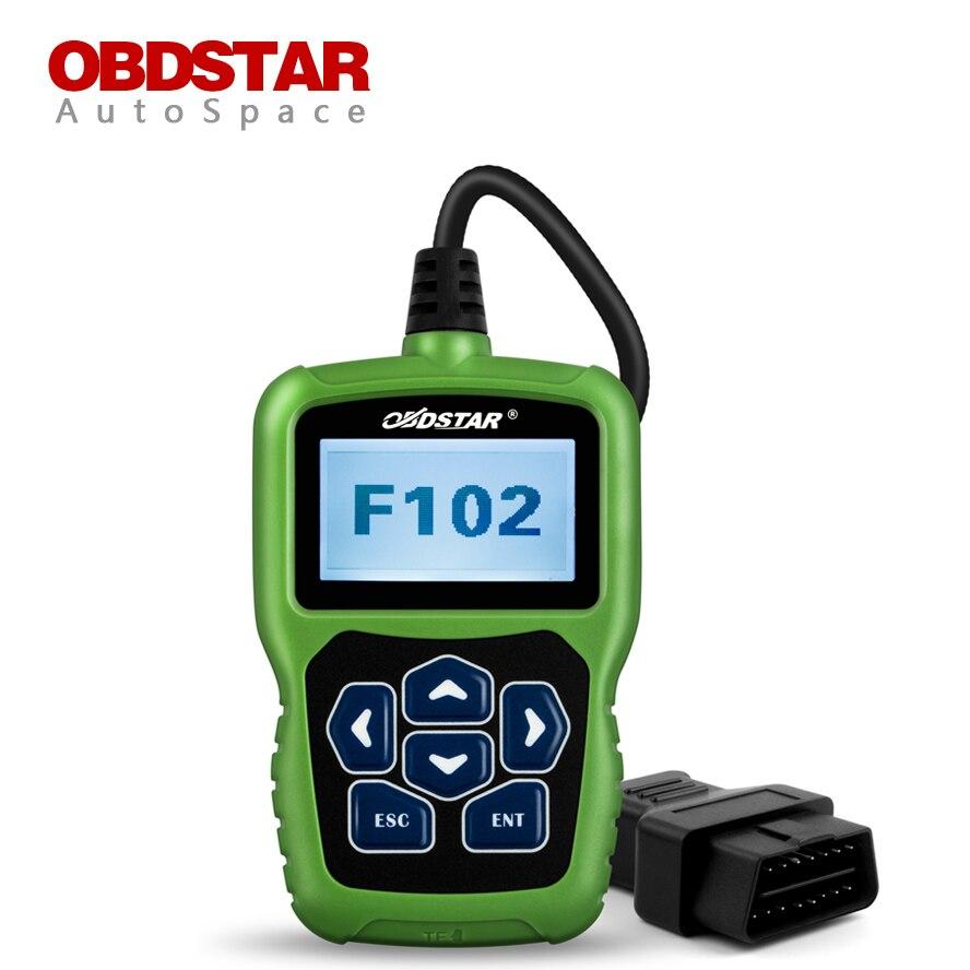 OBDSTAR F102 Auto Pin Code Reader Immobiliser + Mileage Odometer Adjust + Auto Key Programming + Read BDM for Nissan Infiniti