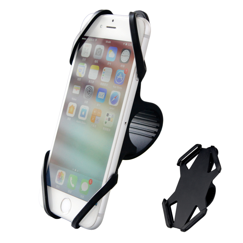 """4-6"""" Phone Bicycle Rack Adjustable Bike Holder Stand Mountain Road Bike Accessories Cell Phone Mount Handle Bicycle Front Rack"""