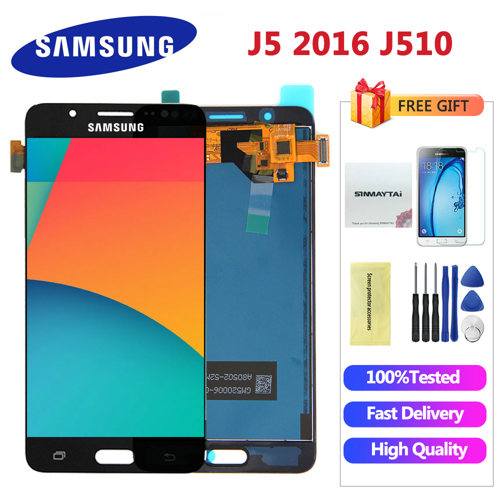 Hot Sale] For Samsung Galaxy J5 2016 J510 LCD Display Touch Screen