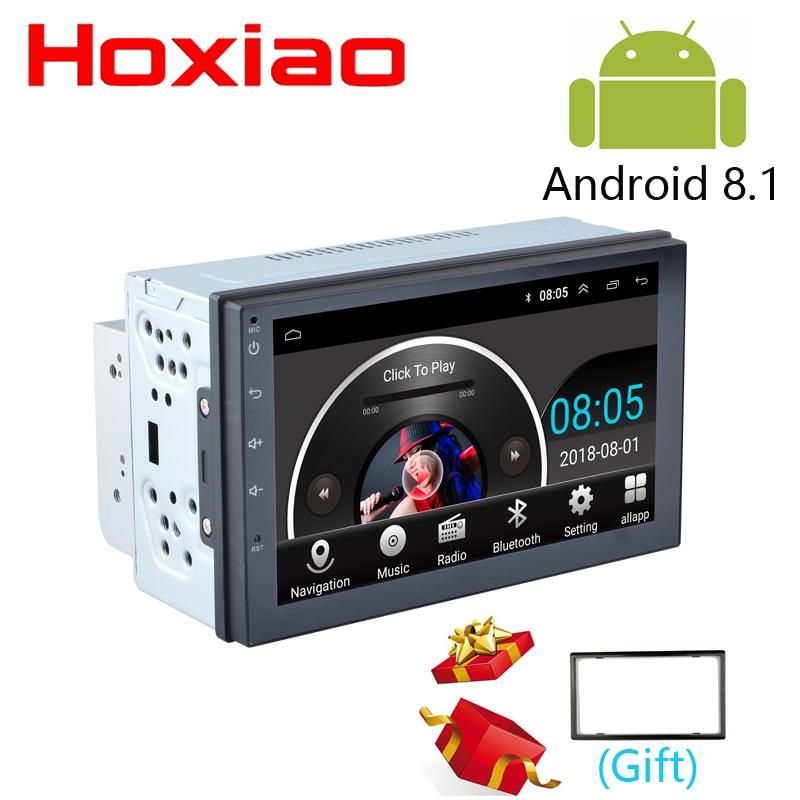 2 din Android Car Radios DVR Camera GPS Navigation Bluetooth For Nissan Toyota Honda Suzuki VW