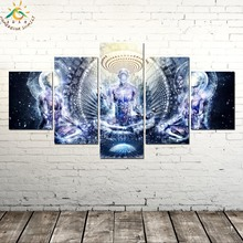 купить!  Духовная Абстрактная Работа Геометрия Картина И Плакат Живопись на Холсте Современные Wall Art