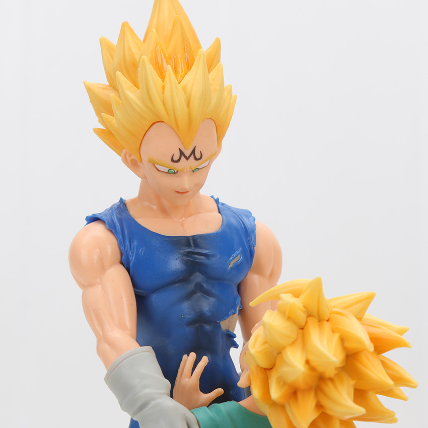 Dragon Ball Z Dramatic Vegeta Trunks Action Figure