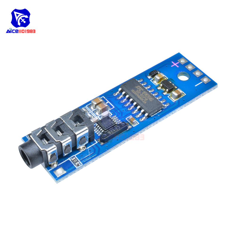 76-115MHz Frequency Modulation Digital FM Radio Receiver Module 3.6-6V 25mA