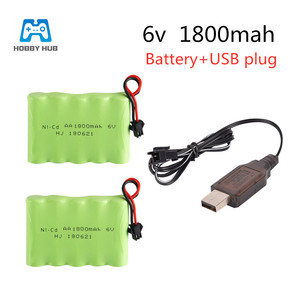 Hobby Hub ni-cd 6v 1800mah AA Battery RC