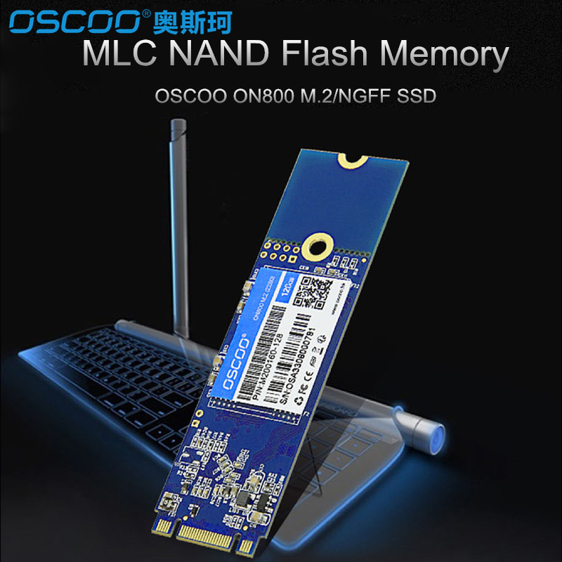 OSCOO M2 2280 M.2 NGFF 480GB M.2 SATA SSD 22*80mm SATA3 6Gb/s Internal Solid State Drive Hard Disk 240 GB for Ultrabook notebook ...