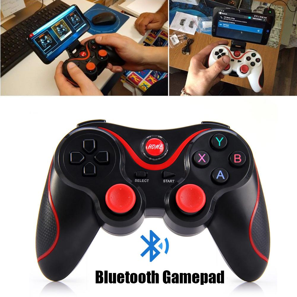 Image 5 - T3 Bluetooth Wireless Gamepad S600 STB S3VR Game Controller Joystick For Android IOS Mobile Phones PC USB Cable User Manual-in Gamepads from Consumer Electronics