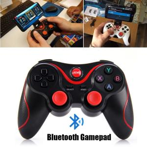 Image 5 - T3 Bluetooth Wireless Gamepad S600 STB S3VR Game Controller Joystick For Android IOS Mobile Phones PC USB Cable User Manual