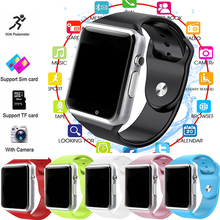 Smart Watch Passometer WristWatch with Touch Screen camera Support SIM card Music Bluetooth smartwatch for Android