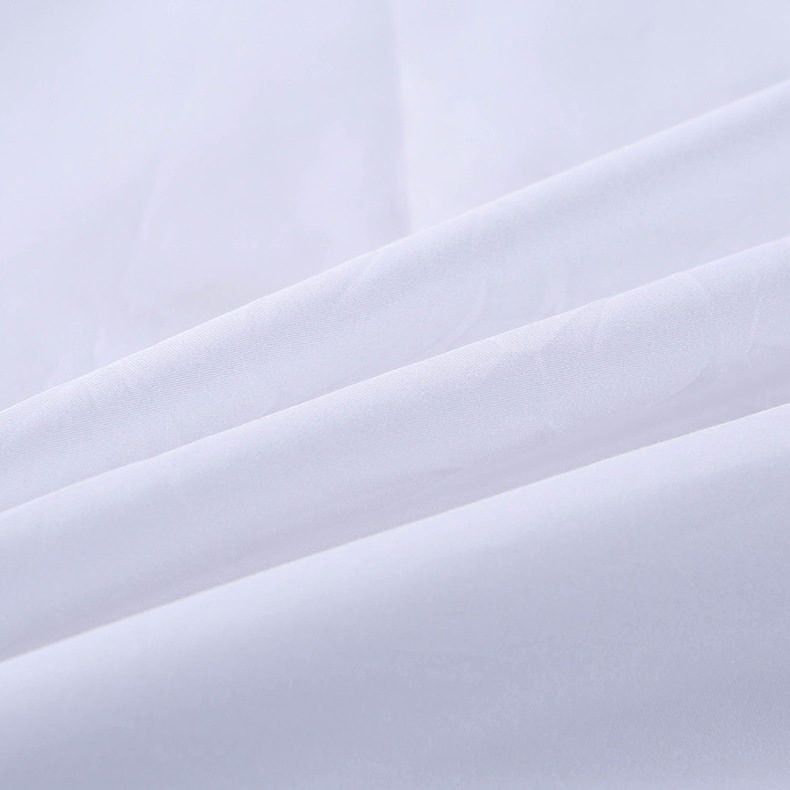 Duvet Cover Protects and Covers your Comforter/Duvet Insert, Luxury 100% Cotton Full Size Color White 4 Piece Duvet Cover Set - 5