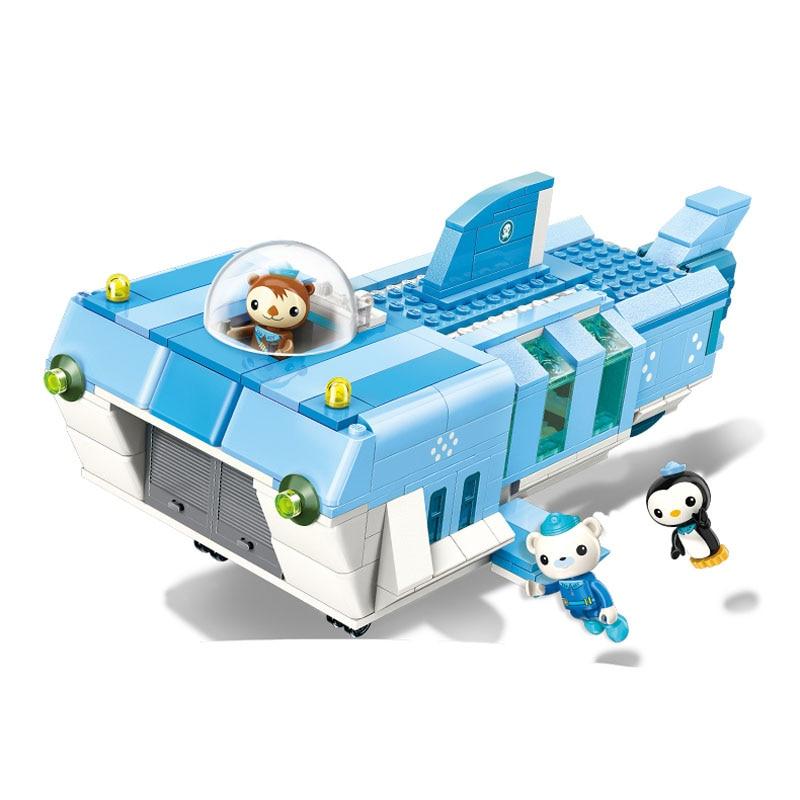 Enlighten Octonauts All Set Brick Toys 47