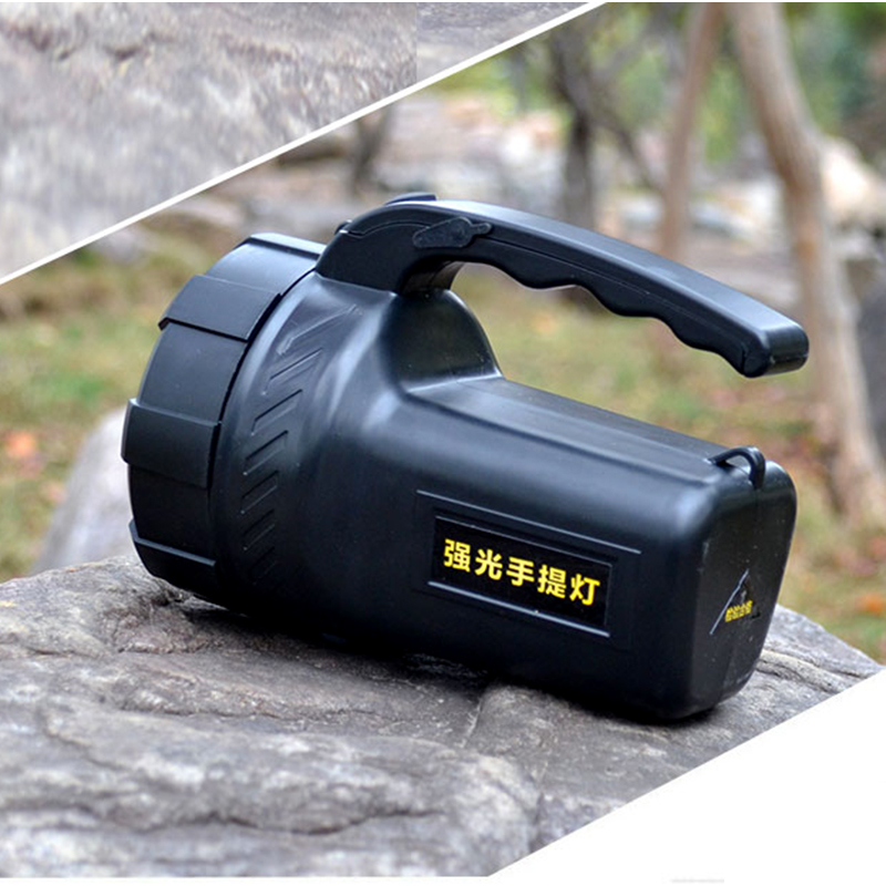 Portable Spotlight LED Flashlight Large Diameter Reflective Cup 3200Lumens LED Rechargeable Outdoor LED Flashlight Lanterns