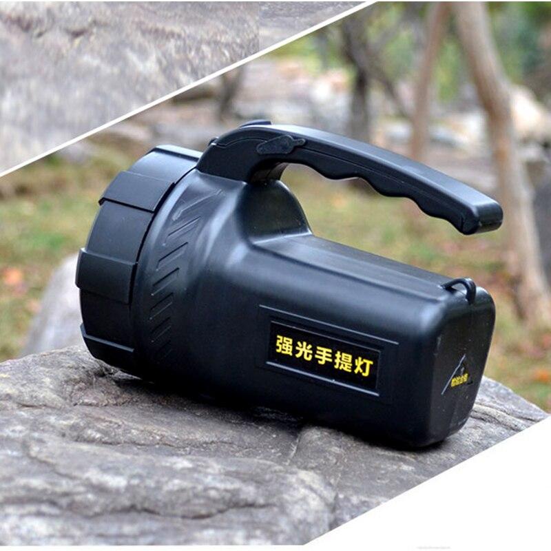 Projectores Portáteis levou ao ar livre recarregável Utilização : Outdoor Camping, Hunting, Hiking