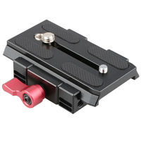 CAMVATE Quick Release Baseplate Mount For DSLR Follow Focus Rig Kit Rail Rod Support System Photo Studio Accessories