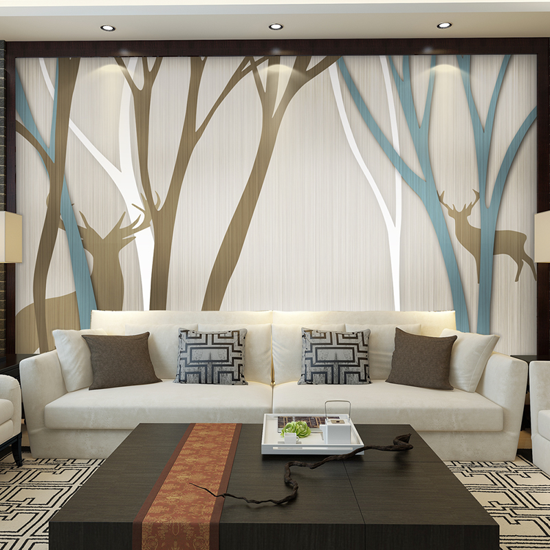 Textile Wallpapers Bedroom TV Background Wall Paper Home Decor 3d wallpaper Living Room photo wall murals 3d wallpaper oversized photo frame tree cartoon kids room decorative wall stickers living room bedroom tv background room murals