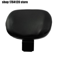 Motorcycle Black Rear Backrest Seat Sissy Leather Driver Backrest Pad For Suzuki VL800 C50