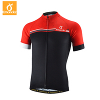 EMONDER Men Cycling Jersey Short Sleeve Maillot Ciclismo Breathable Cozy 2019 Pro Team MTB Road Bike Bicycle Jersey Red